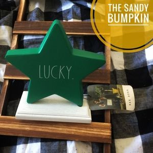 "Rae Dunn ""LUCKY"" Star Decor"